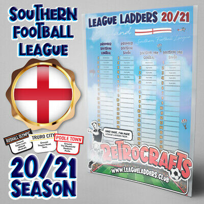 Still miss Shoot! League Ladders? Try ours! Southern Football League '19/20