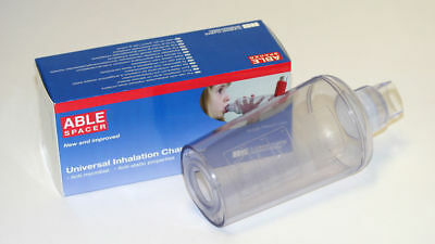 Able Spacer Universal Inhalation Chamber For Inhaler