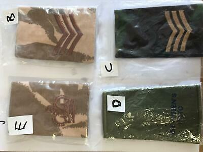 British army / military surplus pairs of epaulettes