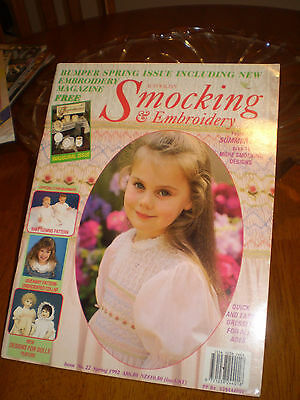 Australian Smocking & Embroidery Magazine # 22 - front opening baby bishop gown
