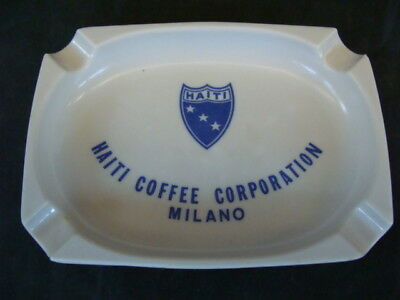 Svuotatasche Haiti Coffee Corporation Milano Posacenere Promo Bar Vintage