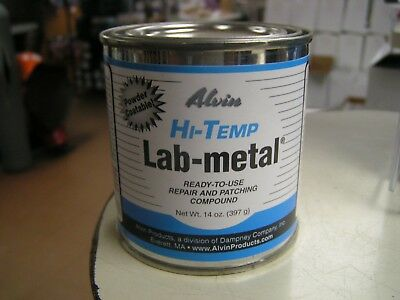Alvin 14 oz Lab Metal ready to use repair and patching compound