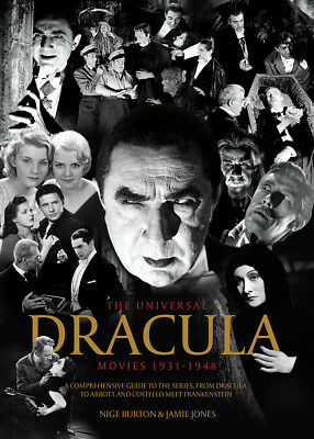 The Universal Dracula Movies 1931-1948 horror movie series guide magazine