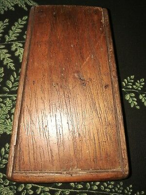 vintage wooden pencil / paintbrush box -  Original Artists Box
