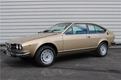 1979 Alfa Romeo GTV 2000 Coupe 2 Door in Original Beige Velour Classic Car