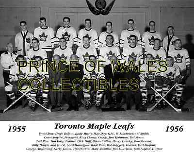 1956 Toronto Maple Leafs Team Photo 8X10