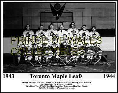 1944 Toronto Maple Leafs Team Photo 8X10