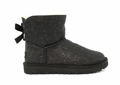 a7e329301ff UGG MINI Bailey Bow Sparkle 1100053 W / Blk