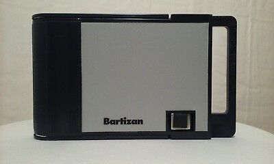 Vtg 80s Bartizan manual credit debit card reader machine offline imprinter EUC