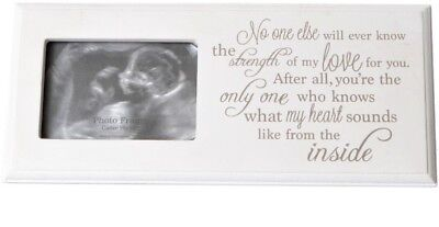 Baby Scan Photo Frame with Sentimental Verse - Pregnancy, Mum To Be, Shower GIFT