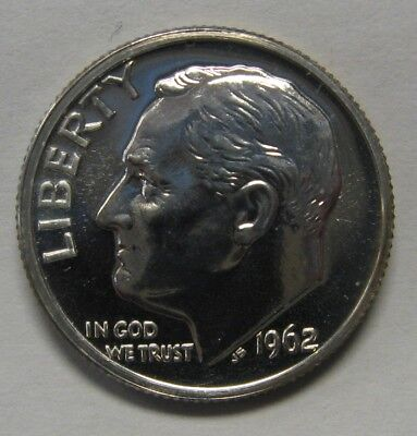 1962 Proof Silver Roosevelt Dime Shipped FREE Best Prices on Ebay Nice Coins!
