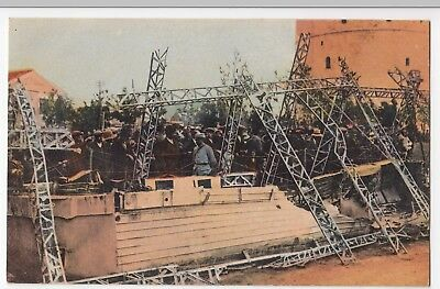 Greece; WW1, The Gondola Of The Wrecked Zeppelin PPC By Henri Manuel, Unposted