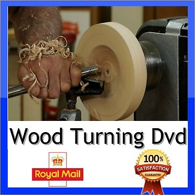 Learn Wood Turning With A lathe Dvd Tutorial how craft