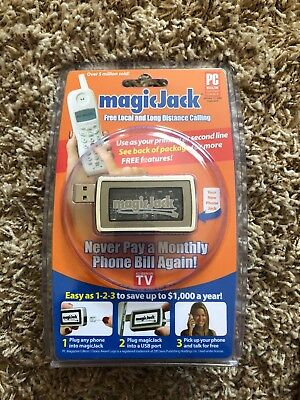 Original MagicJack AS SEEN ON TV Free Local & Long Distance Calling NEW
