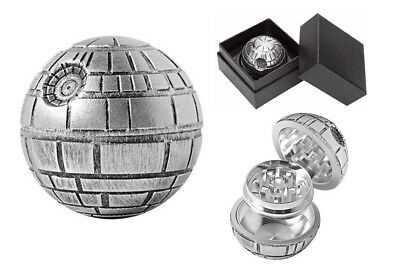 Death Star 3-Layers Dry Herb Grinder Spice Metal Crusher