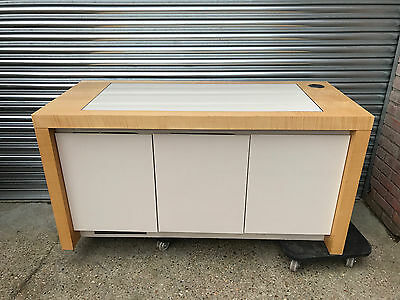 High Quality Boardroom Credenza [3 Door Marble Top Sideboard Buffet] Server Top