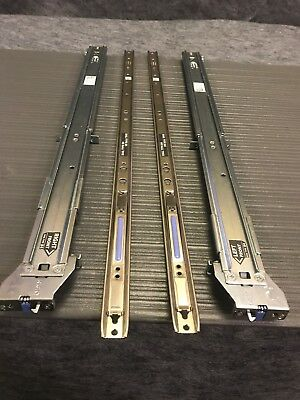Dell PowerEdge R510 R515 R720 Slim 2U Static Rail Kit 2/4 Post Type B4