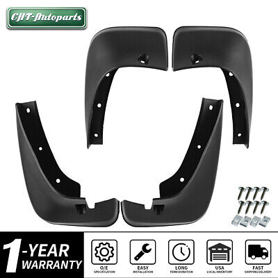 Full Set Splash Guards Mud Flaps Fit 2001-2007 Toyota Highlander 76626-48020