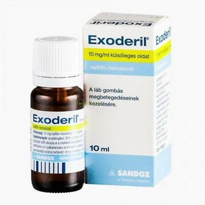 Exoderil Liquid 10ml 20ml candida,mycosis,Skin Fungal Treatment Skin & Nails