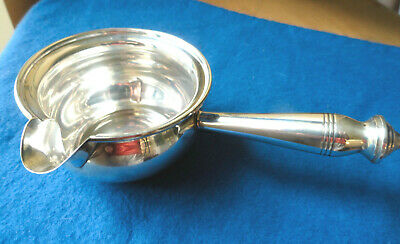 Revere Silver 542 Pipkin Sterling Silver Hollowware Sauce Boat w Handle