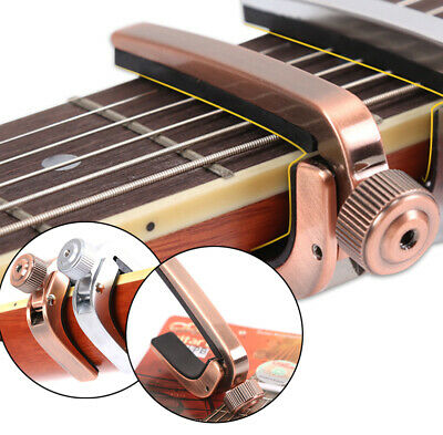 A007J Guitar Capo /Key Clamp For Acoustic Electric Guitar Bronze Accessories