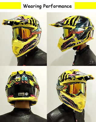 1PC Motorcycle Motocross Racing Googles ATV Dirt Bike Helmet Glass Ski Goggle