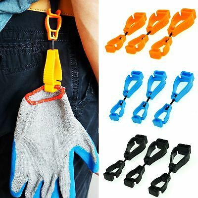 1x / 3x Work Gloves Clips Grabber Holder Guard Welding Glove Safety Keeper AU