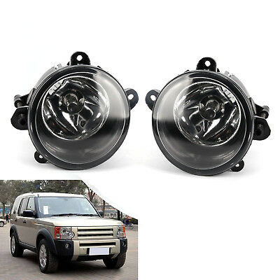 Pair Front Fog Light Lamps For Land Rover Discovery 2 3 RANGE ROVER Sport L322