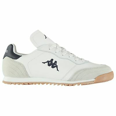 Kappa Denser DLX Sneakers Mens Gents Low Laces Fastened Padded Ankle Collar