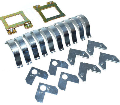Aluminium Frame Assembly Hardware Kit Cwh3 Double Plate For 1 Frame Mitred Sub