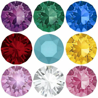 Swarovski 1028 Xilion Chaton Round Stones Crystals 5.3mm SS24 Jewellery Making
