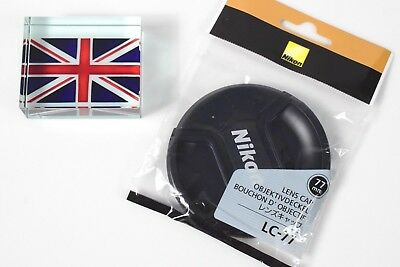 New Genuine Original Nikon Lc-77 77Mm Pinch Type Lens Cap Uk Based Supply