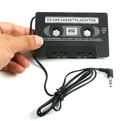 Audio AUX Car Cassette Tape Adapter Converter 3.5 MM for iPhone iPod MP3 CD AMS