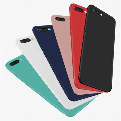 Silicone Rubber Frosted TPU Cover Case For Huawei Honor 10 9 8 Lite 8X 7A 7X 6X