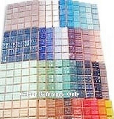 200 Craft Mosaic Tiles 2x2cm Mosaic Making Colour Pack  40 Colours x 5 of each