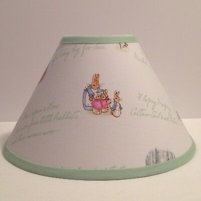Peter Rabbit Fabric Nursery Lamp Shade M2M Pottery Barn Kids Bedding