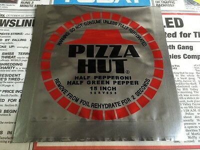 Back to the Future 2 - Pizza Hut Foil Bag Prop