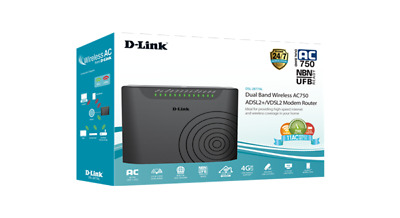 DLink - DSL-2877AL - Dual Band Wireless AC750 Modem Router