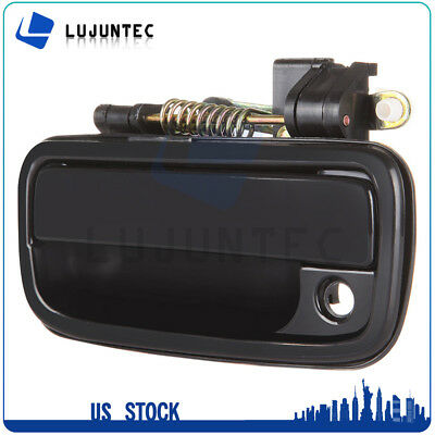 Door Handle Black Inside Outer Front Left Driver Side for 95-04 Toyota Tacoma