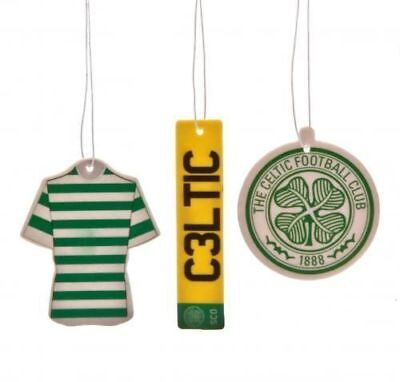 Celtic FC 3 Pack Air Freshener Car Fan Gift New Official Licensed Football Club