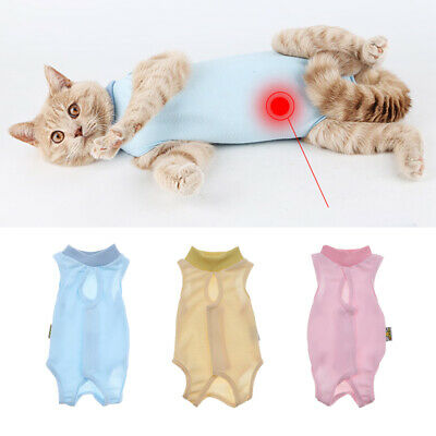 After Surgey Wear Clothes E-Collar Alternative Recovery Suit for Cats & Dogs