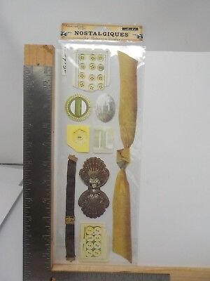 NEW EK Success Rebecca Sower Attic Collection Double Paper Punch Clock Hands