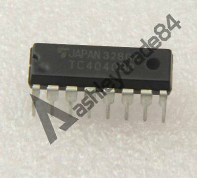 PC74HCT4060P 14 STAGE BINARY RIPPLE COUNTER WITH OSCILLATOR  DIP  1pcs
