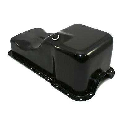 Black Front Sump Oil Pan – SBF 302 Small Block Ford Windsor 260 289 5.0 Mustang