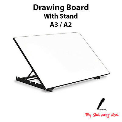 A3 A2 Drawing Board 5 ANGLE STAND Tilted Architecture WOODEN!