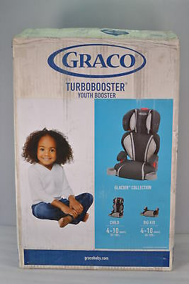 Graco Highback Turbobooster Car Seat in Glacier Fashion