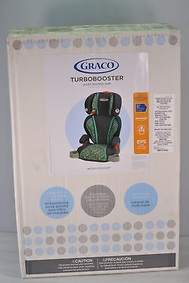 Graco Highback Turbobooster Car Seat in Mosaic Fashion