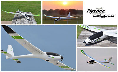 """Flyzone Calypso Rc Controlled Glider 73"""" Wingspan"""