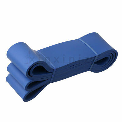 Pull Up Assist Band Latex Resistance Streching Blue Band Workout Fitness