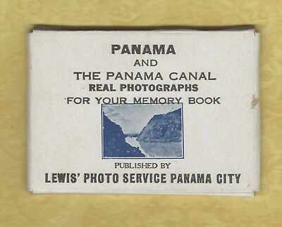 x Panama & Canal 1929 rare 20 pack REAL PHOTOGRAPHS BY LEWIS